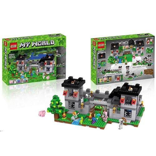"""Конструктор QS08 44041 Minecraft (аналог Lego 10472) """"Фортеця"""", +1093 деталей"""