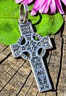 Оригинальный крестик,крест! Серебро,925!, фото 1