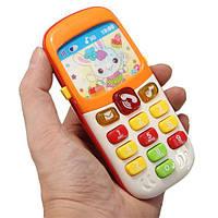 Электронные игрушки Kid Мобильный телефон сотового телефона Образовательные ранние малыши Изучение музыкальных звуковых головоломок Пода