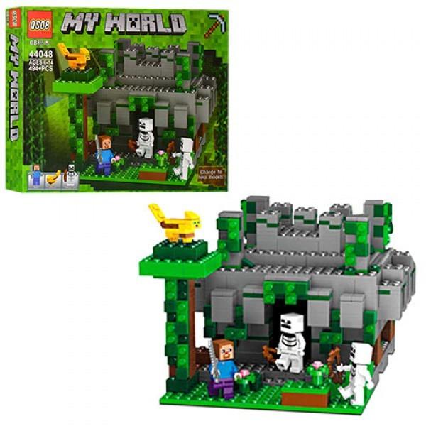 Конструктор 44048 Храм в джунглях 494 деталі Minecraft Аналог LEGO Майнкрафт
