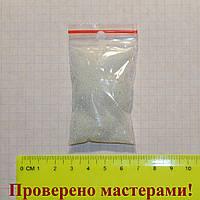 Микробисер мелкий прозрачный 20г