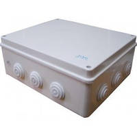 Распределительная коробка наружная АСКО РК 200*155*80 10 гермовводо IP 55
