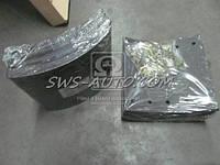 Накладка торм. (компл. на ось) 420х200 1-й рем. BPW, DAF SB, SAF (RIDER)