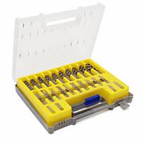 150pcs 0.4mm-3.175mm микро соучастник дробилки инструмента ротации набора сверл спиральных сверл