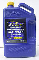 Моторное авто масло Royal Purple API 5w-20 фасовка 4.73л /5 кварт / Royal Purple API