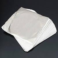 100 оставляет серебряный лист,листы для золочения украшения искусства работы судов 14 х 14 см