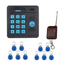 Дверной диспетчер управления доступом sy5100rid abs дистанционное управление клавиатуры RFID-считывателя случая 10 удостоверений личности