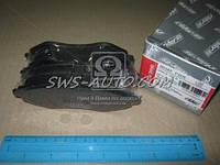 Колодка торм. диск. CHEVROLET AVEO 06 передн. (RIDER)