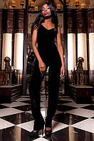 Женский черный костюм Паули Jadone Fashion 42-48 размеры
