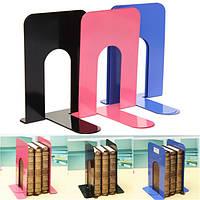 3 окрашивают одну пару l-образным нескользящим держателем книжного шкафа полки металла держателей для книг