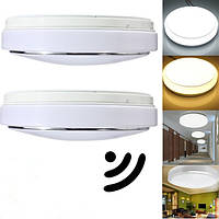 15w pir датчик движения 30 LED тел потолочного светильника автоматический выключатель ac 220v