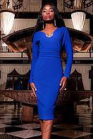 Женское платье Хансити электрик Jadone  42-48 размеры
