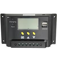 24v 12v 20a pwm солнечная батарея солнечный диспетчер обвинения в регуляторе жидкокристаллический порт обвинения в usb