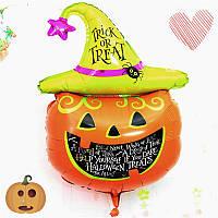 Тыквенная голова Хэллоуина декоративная сторона воздушных шаров фольги хорошее художественное оформление