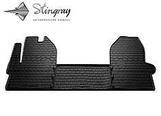 IVECO Daily VI 2014- Комплект из 3-х ковриков Черный в салон. Доставка по всей Украине. Оплата при получении