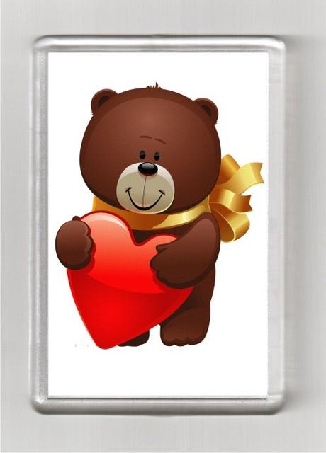 Магниты с печатью (14 февраля День Св.Валентина)