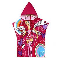 Мультфильм душа полотенец одежд ванной волокна полиэстера девочек закрытые мягкие дети пляжа одеял мочалки