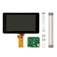 Официальный Raspberry Pi 7-дюймовый сенсорный дисплей с акриловой основе Держатель для Raspberry Pi 3B/2B/A+