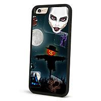 Хэллоуин защитный случай tpu мягкая задняя крышка для iphone 5 5 s