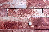 Тернопольский плитка 3 см., 6 см. красный