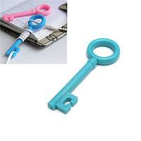 Ключевой кабельный наушник наушника организатора шнура телеграфирует держателя для скрепки провода mp4 mp3