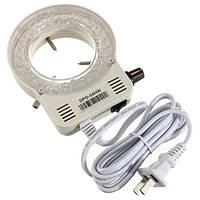 100-AC240V 56 LED регулируемые кольцо фары подсветки лампы для стерео микроскопа