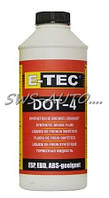 """Жидкость тормозная """"E-Tec"""" Dot-4 1.0л/1080г"""