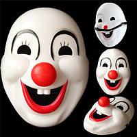 Маска клоуна красный нос косплей для Хэллоуина мультфильм партии цирка