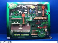 Детский игровой набор farm world 0046/a-b трактор с аксессуарами