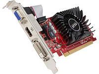 Видеоадаптер Asus Ati Radeon R7 240 (1 Gb / 64 Bit Ddr3; 600 Mhz / 1600 Mhz; Pci-Express X16 3.0; 1X D-Sub, 1X