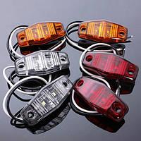 12v габаритный LED загорается индикатор лампы для автомобилей грузовик прицеп