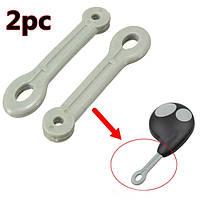2шт корпусное кольцо резиновый ремень петля для кнопки брелока сигнализации петли кобры дистанционного