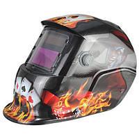 Джокер карта самозатемняющимися шлем дуги аргонодуговой сварки MIG шлифования сварщики маска