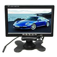 7 дюймов LCD Монитор+IR 18LED Резервное копирование камера Вид сзади Набор для грузовой шины RV