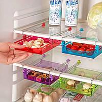 Honana Многоцелевой Холодильник Хранение выдвижного ящика Холодильник Организатор Space Saver Полка