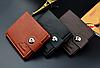 Стильный мужской кошелек коричневый, фото 5