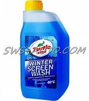 """Жидкость для омывания стекол зимняя концентрат -80° """"Turtle Wax"""" 1л"""