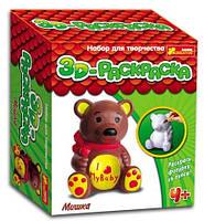 "3D раскраска Ранок ""Мишка"""