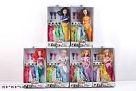 Кукла  Принцесса Диснея  6838  6 видов, на шарнирах с одеждой, в коробке 18*5*33 см.