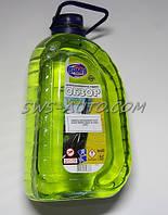 """Жидкость для омывания стекол летняя """"ВАМП"""" Обзор 4л лимон (ПЭТ)"""