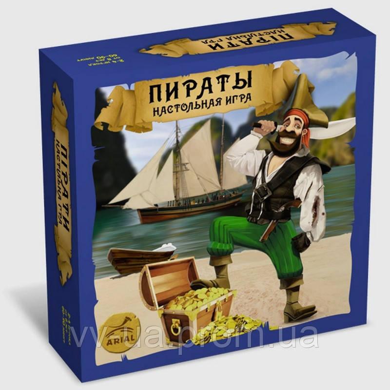 Игра настольная ARIAL Пираты (4820059911234)