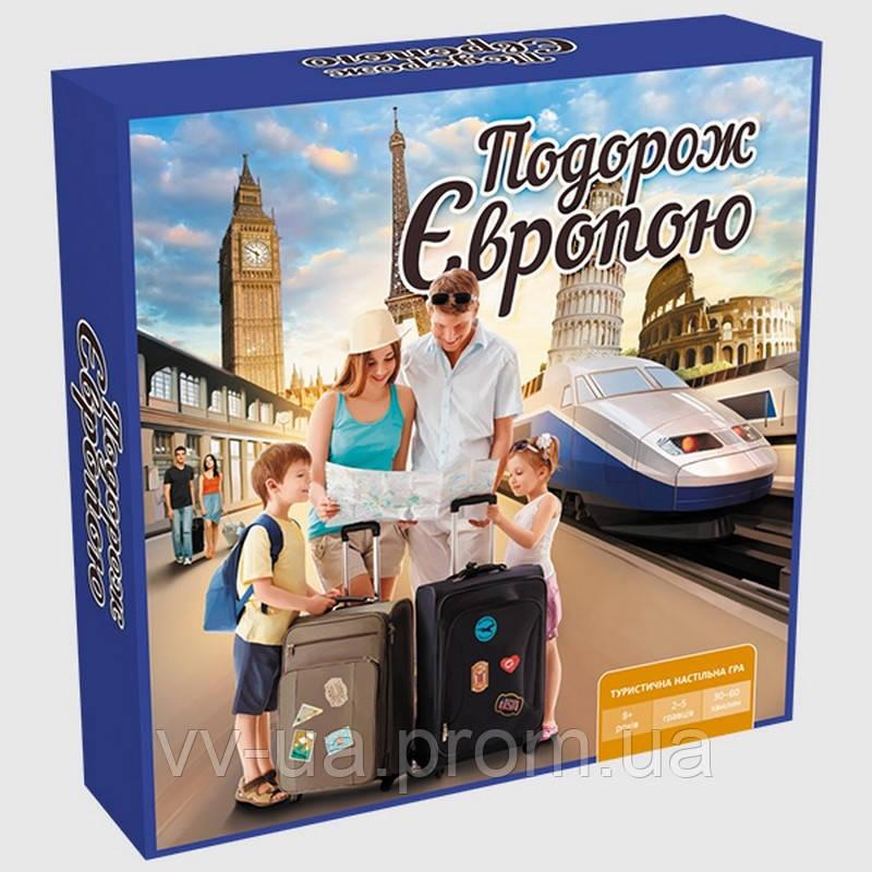 Игра настольная ARIAL Путешествие по Европе (4820059910275)