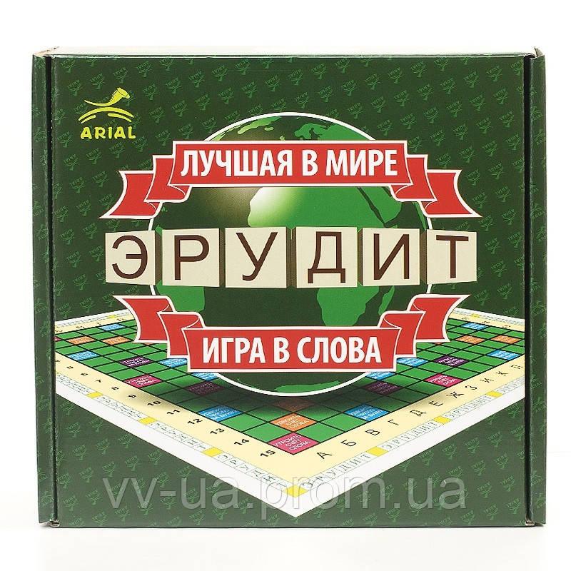 Игра настольная ARIAL Эрудит (русская версия)
