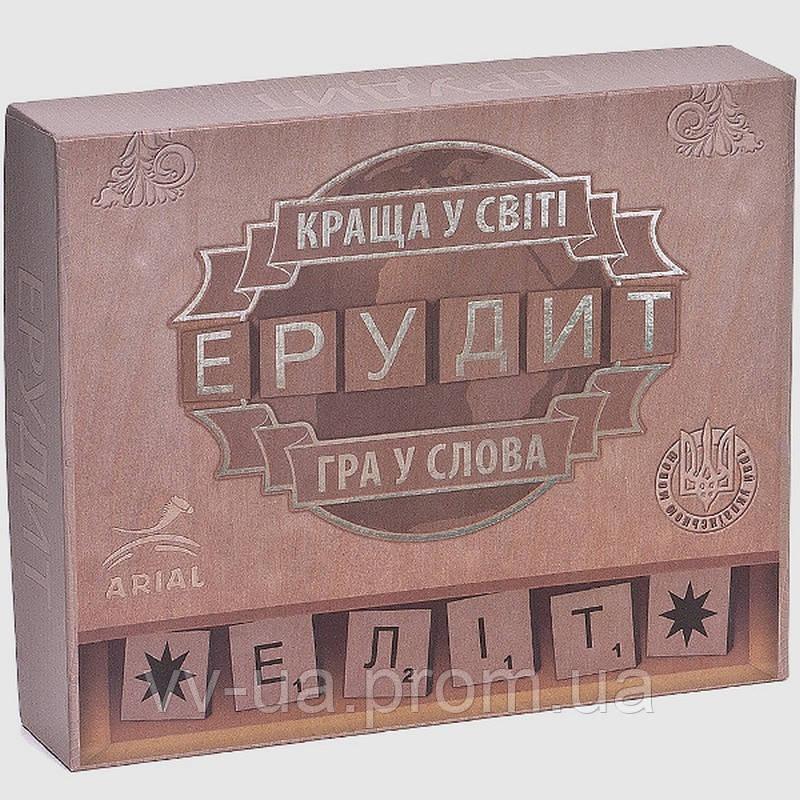 Игра настольная ARIAL Эрудит-элит (украинская версия)