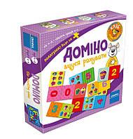 Игра настольная Granna Домино. Учусь считать