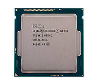 #154425 - Процессор Intel Celeron (LGA1150) G1840, Tray, 2x2,8 GHz, HD Graphic (1050 MHz), L3 2Mb, Haswell, 22 nm, TDP 53W (CM8064601483439)