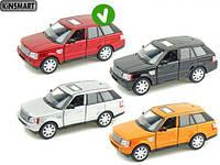 KINSMARTбордовый Range Rover Sport, метал, инерц., в кор. 16х8х7 /96-4/