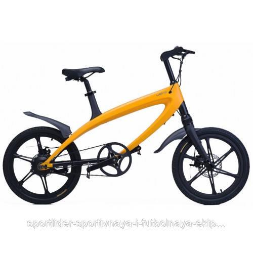 Электровелосипед LEHE S1 (желтый) - Спортлидер› спортивная и футбольная экипировка, обувь, мячи, форма, бутсы, сумки, аксессуары в Киеве