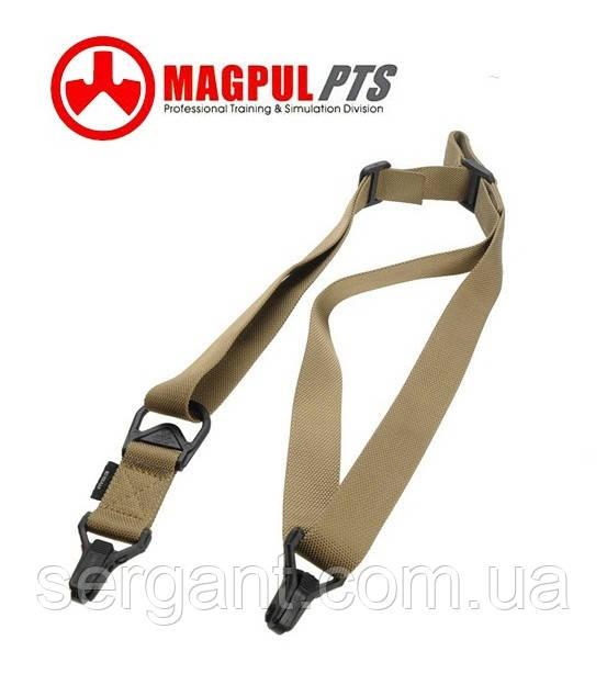 Тактический оружейный 1-2 точечный ремень Magpul MS3 PTS (Гонконг) - ПЕСОЧНЫЙ
