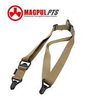 Тактический оружейный 1-2 точечный ремень Magpul MS3 PTS (Гонконг) - ПЕСОЧНЫЙ, фото 1
